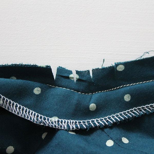 Sew Over It 1940's Tea Dress Sewalong - attaching the facing