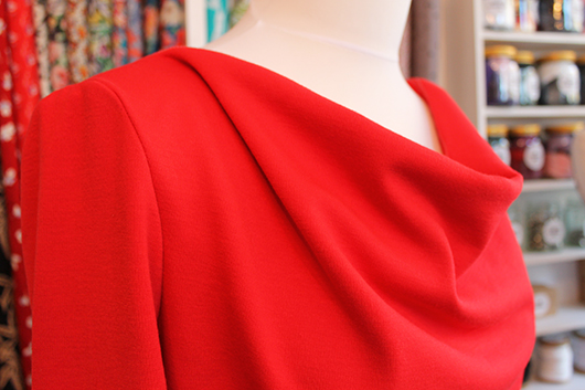 Sew Over It Cowl Neck Dress Sewalong // Sewing Your Cowl Neck Dress