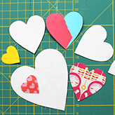 Sew Your Own Valentine's Day Wrapping!