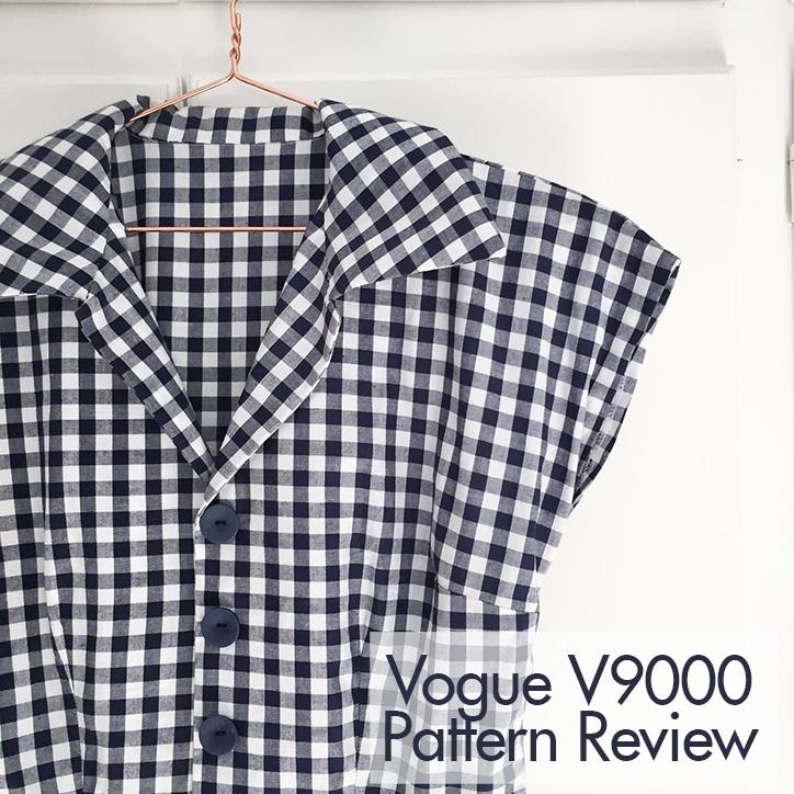 Big Vintage Sewalong: Lisa Comfort sews Vintage Vogue V9000