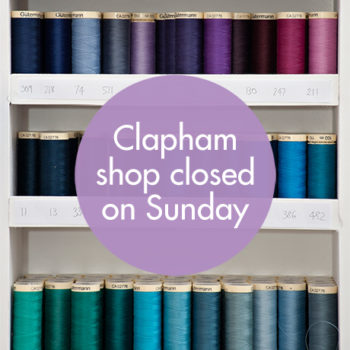 Clapham Shop Closed – Sunday 18th September