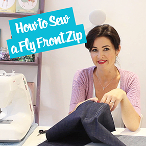 How to Sew a Front Fly Zip - Sewing Tutorial | Sew Over It