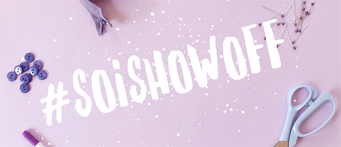 SOIshowoff competition: win £20 to spend on our online fabric shop!