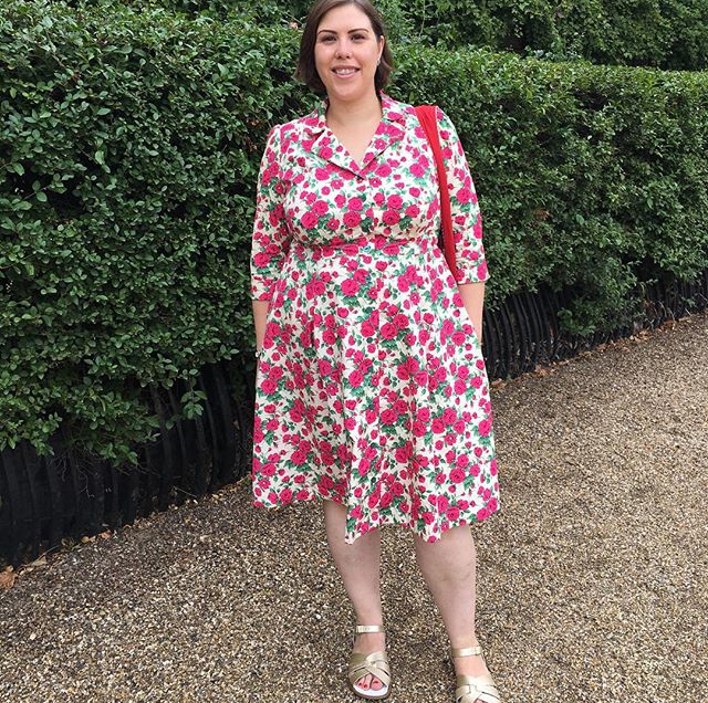 Vintage Shirt Dress Sewing Pattern - #SOIshowoff competition