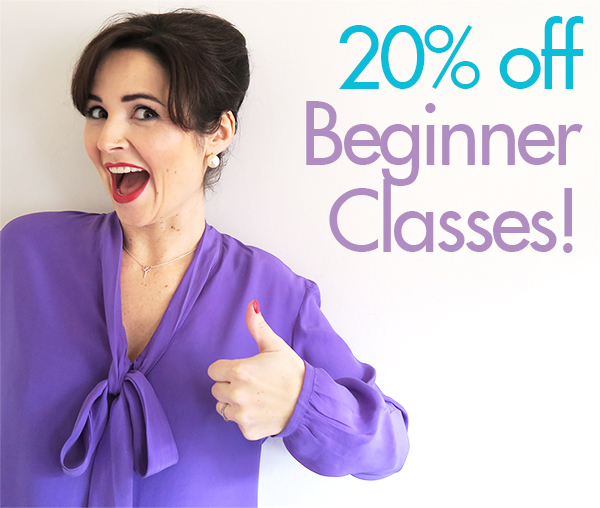 Sew Over It London Sewing Classes for Beginners: Sale!