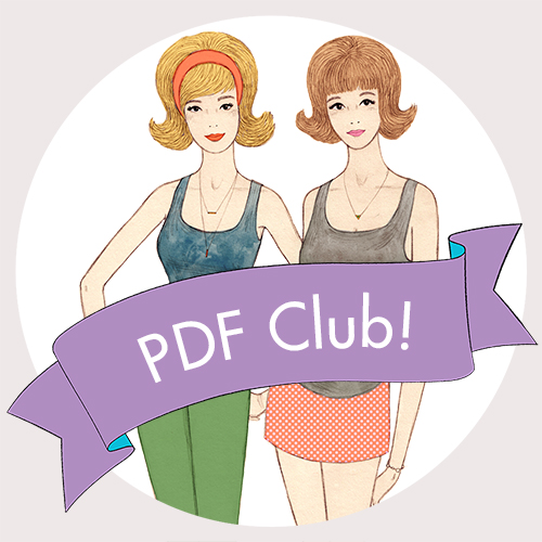 Sew Over It PDF Club :: keep up to date with all of our PDF pattern releases and get 10% off every one!