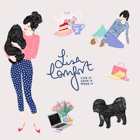 Lisa Comfort :: beautiful new brand :: DIY tutorials, beauty, London :: lisacomfort.com