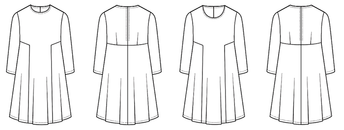 Sew Over It Nancy Dress PDF Pattern