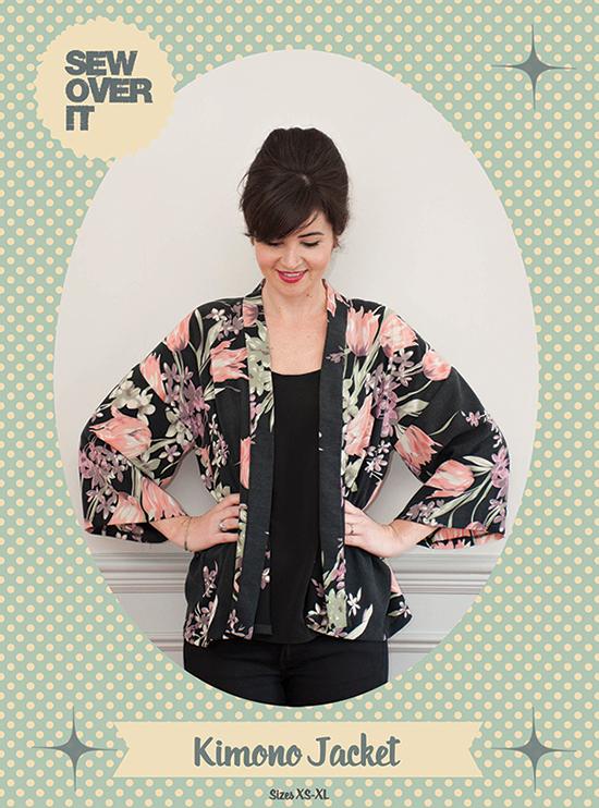 Sew Over It Kimono Jacket sewing pattern