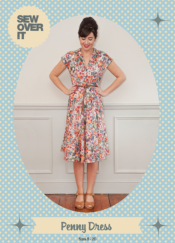 Penny Dress Sewing Pattern :: Sew Over It
