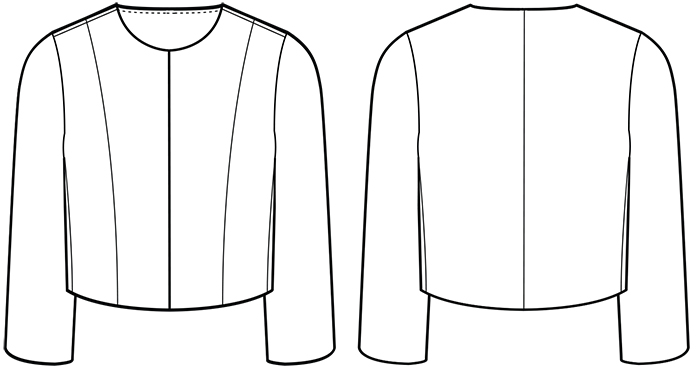 Sew Over It Coco Jacket sewing pattern - available in PDF format