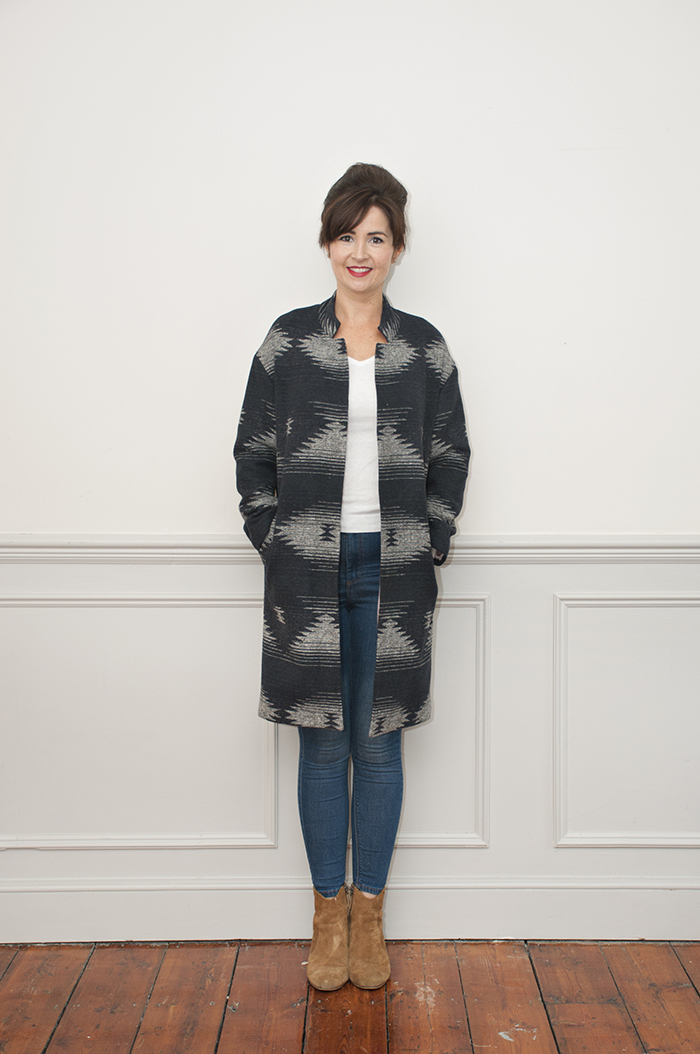 Cocoon Coat sewing class at Sew Over It in London
