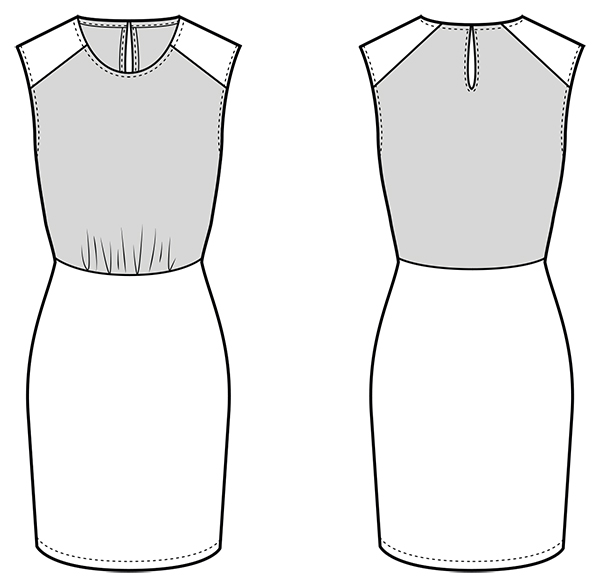 Sew Over It Phoebe Dress Sewing Pattern