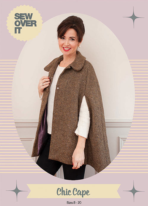 Sew Over It Chic Cape sewing pattern