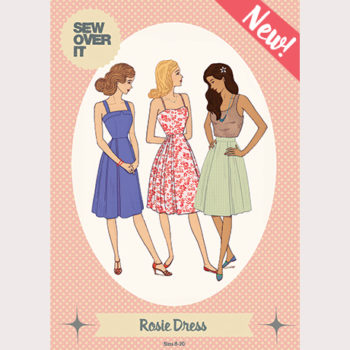 Yay! The Rosie Dress Sewing Pattern is Here!