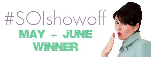 Winner banner - May and June