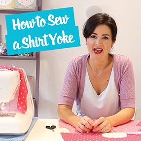 How to Sew a Shirt Yoke - Sewing Tutorial | Sew Over It
