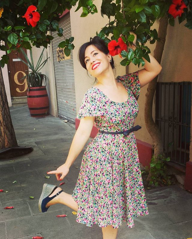 Betty Dress Sewing Pattern - #SOIshowoff competition