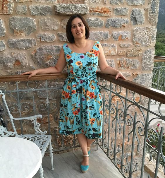Grace Dress Sewing Pattern - #SOIshowoff competition