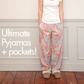 Add pockets to the Ultimate Pyjamas sewing pattern | Sew Over It Online Fabric Shop
