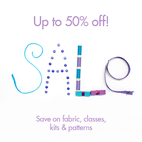 Sew Over It Online Fabric Shop - January Sale