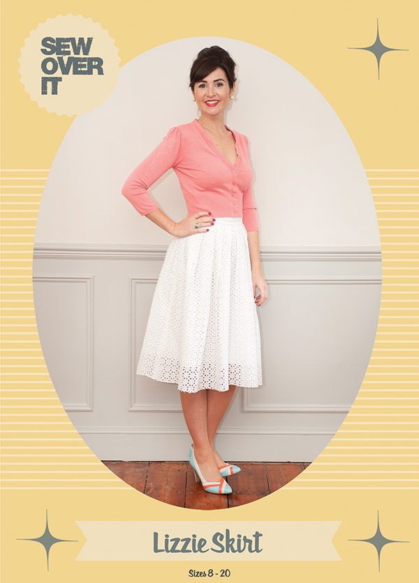 Sew Over It | Meet the Lizzie Skirt pattern! | The perfect pleated ...