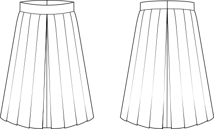 Sew Over It Lizzie Skirt   our new pleated skirt is sure to become a wardrobe staple