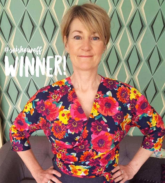 Ella Blouse winner 2