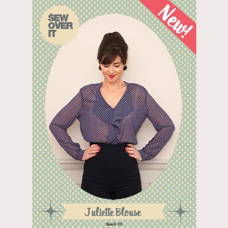 Juliette Blouse sewing pattern - Sew Over It