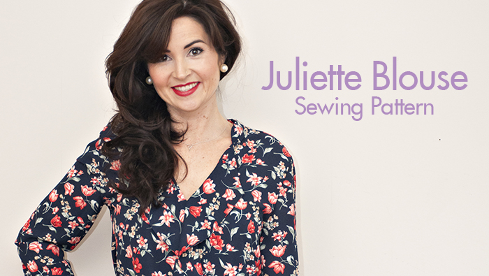 Juliette Blouse Sewing Pattern | Sew Over It