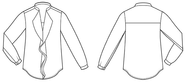 Juliette Blouse Sewing Pattern | Sew Over It