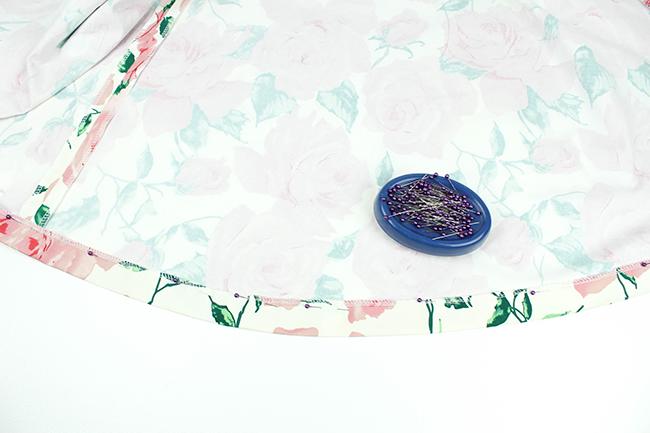 Sew Over It Elsie Dress Sewalong: Hemming the Dress