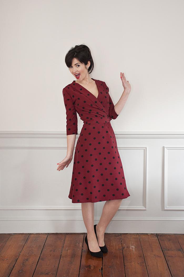 Announcing the 1940's Wrap Dress Sewalong