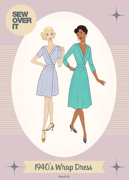 1940's Wrap Dress Sewalong: Measuring & Identifying Alterations