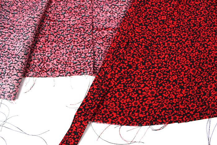 Sew Over It 1940's Wrap Dress sewalong: Finishing the bodice with bias binding