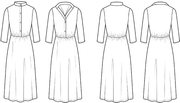 Sew Over It Florence Dress Pattern - Maxi Dress Sewing Pattern