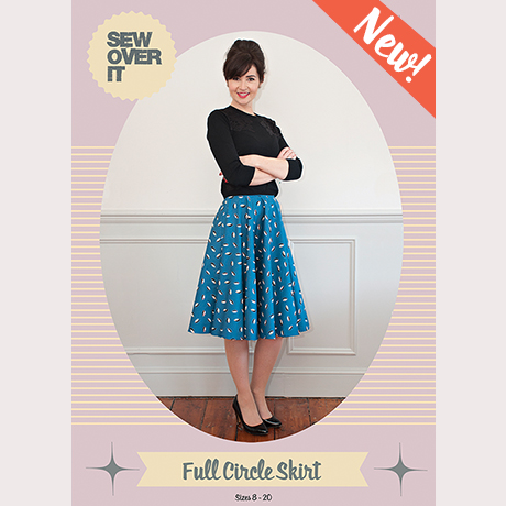 Sew Over It Full Circle Skirt sewing pattern