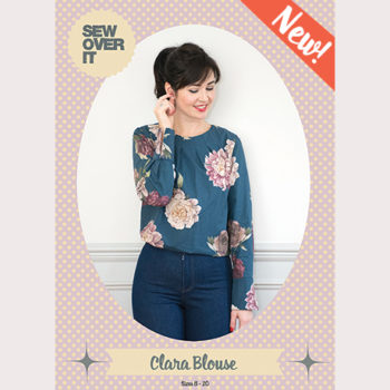 Meet the Clara Blouse, our New Pattern!