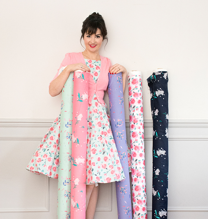 Lisa Comfort fabric range - available at Sew Over It :: https://sewoverit.co.uk/product-category/fabric-shop-by-type/lisa-comfort-fabrics/