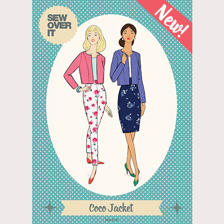 Coco Jacket sewing pattern - Sew Over It