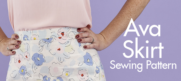 Sew Over It Ava Skirt PDF Sewing Pattern
