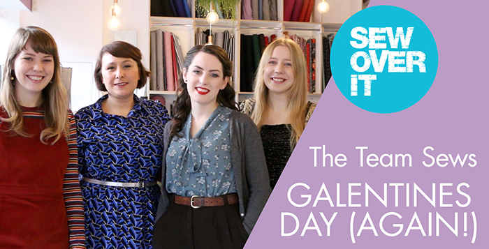 See what the Sew Over It team have been sewing for Galentine's Day - all on the theme of personal style