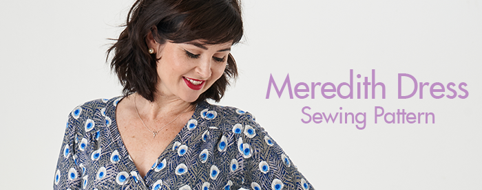 Meredith Dress Sewing Pattern :: Sew Over It