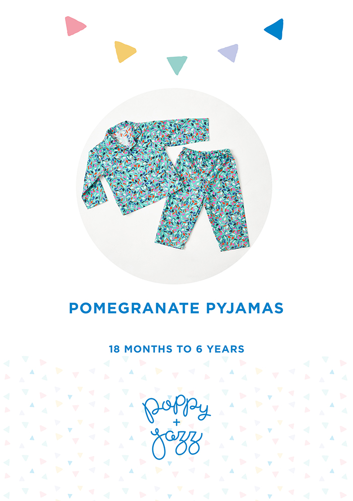 Pomegranate Pyjamas Front Cover