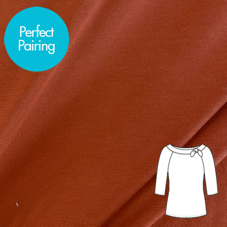 Sew Over It Online Shop - Bamboo - Rust
