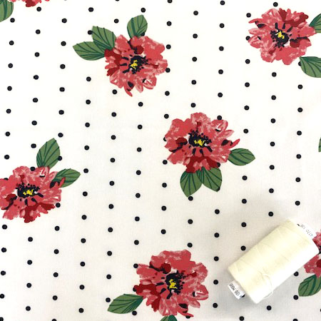 Sew Over It- Spots and Roses